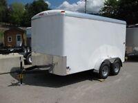7X12 Mirage Enclosed Cargo trailer