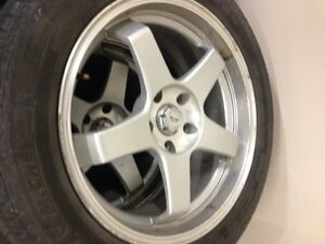 "19"" rims with rubber Michelin latitude m+s  Touring. Regina Regina Area image 3"
