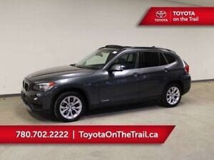 2013 BMW X1 PANORAMIC SUNROOF, AWD, WINTER TIRES, LEATHER, HEA