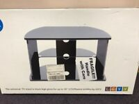 """TV Stand Black Gloss for up to 32"""" TV - NEW"""