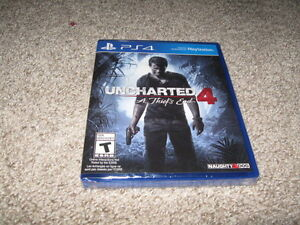 PS4 Uncharted New in Package