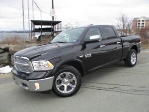 2017 RAM 1500 Laramie (6FT 4IN BOX WITH RAM BOX, NAVIGATION, MOO