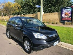 2008 Honda CR-V RE MY2007 4WD Blue 6 Speed Manual Wagon Maidstone Maribyrnong Area Preview