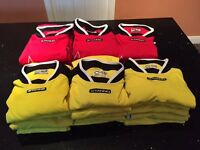 Youth Football Kit, Shirts (2 colours), Rain Jackets, Holdalls & Gk Tops