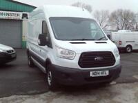Ford Transit T350 L3 H3 125ps DIESEL MANUAL WHITE (2014)