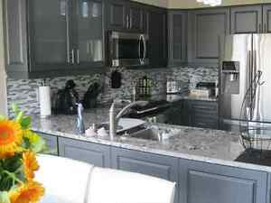 Let us tranform your kitchen with our flawless cabinet painting.