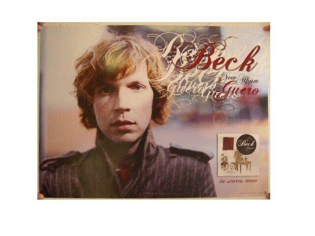 Beck Poster Guero Face Shot Promo