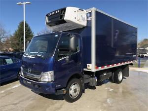 2016 HINO 195 WITH CARRIER REEFER