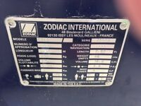 Zodiac inflatable dinghy C240