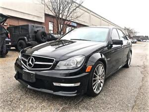 2012 Mercedes-Benz C-Class C 63 AMG PERFORMANCE PACKAGE