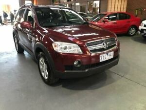 2009 Holden Captiva CG MY09.5 CX (4x4) Maroon 5 Speed Automatic Wagon Dandenong South Greater Dandenong Preview
