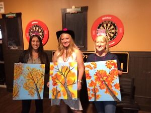 Let's Paint - Paint Night Parties in your own home! London Ontario image 9