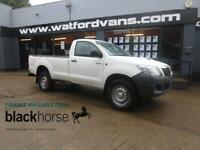 2015 Toyota Hi-Lux Active 3.0D-4D 4x4 Single Cab Pick Up Diesel white Manual