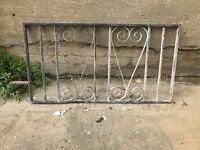 Wrought Iron Fence x5
