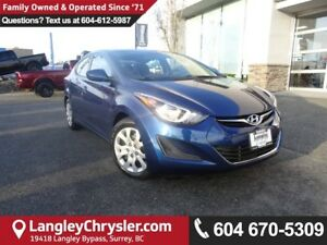 2016 Hyundai Elantra GL *LOCALLY OWNED*DEALER INSPECTED*