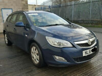 VAUXHALL ASTRA J / MK 6 DRIVERS FRONT DOOR IN BLUE 2011 RING FOR MORE INFO
