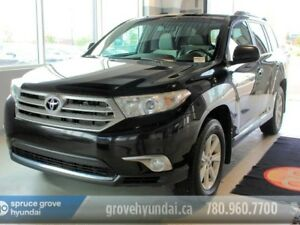 2013 Toyota Highlander V6-4WD 6 PASS CAPTAIN 2ND ROW