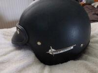 Harley Davidson open face motorcycle helmet 55-57cm
