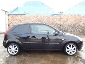 * Finance Me - No VAT * Ford Fiesta 1.4TDCi 2007.25MY Zetec Climate