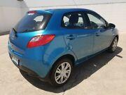 2012 Mazda 2 DE10Y2 MY12 Neo Blue 4 Speed Automatic Hatchback Medindie Walkerville Area Preview