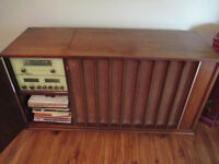 1958 ELECTRAHOME HIGH FIDELITY CLARION CONSOLE
