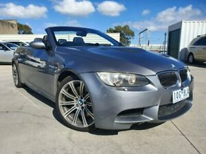 2009 BMW M3 E93 MY10 M-DCT Grey 7 Speed Sports Automatic Dual Clutch Convertible Dandenong Greater Dandenong Preview