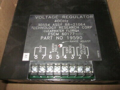 New Military Generator Trc Voltage Regulator 400 Hz 30554 88-21064 5 And 10kw