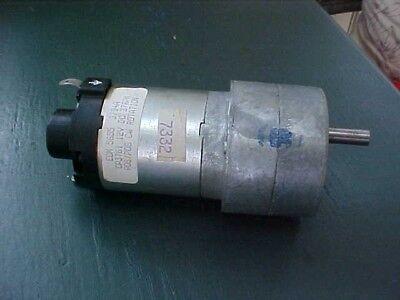 12 Volt Electric Gear Motor 37 Rpm By Ecm Motor Co. Model 5655