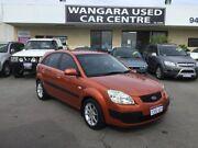 2007 Kia Rio JB EX Burnt Orange 5 Speed Manual Hatchback Wangara Wanneroo Area Preview