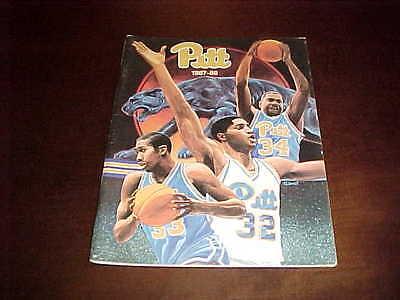 1987 Pitt Panthers Basketball Media Guide