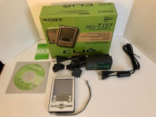 Sony PEG-TJ37 CLIE Personal Entertainment Organizer Palm OS Great Condition