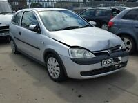 2002 Vauxhall Corsa C Life Breaking Engine Door Boot Tyre Exhaust...