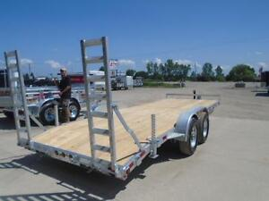 20' EQUIPMENT TRAILER - GALVANIZED - WILL NOT RUST CANADIAN MADE London Ontario image 2