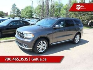 2016 Dodge Durango Limited; AWD, SUNROOF, LEATHER, HEATED SEATS/