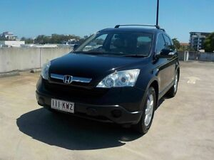 2007 Honda CR-V RE MY2007 4WD Black 5 Speed Automatic Wagon Southport Gold Coast City Preview