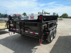 7 TON HYDRAULIC DUMP SERIES - BUILT TO LAST - 7X12 BED London Ontario image 2