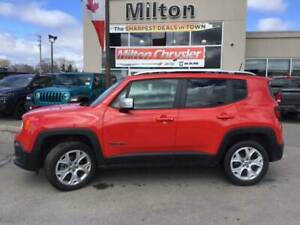 2018 Jeep Renegade LIMITED 4X4|LEATHER|SUNROOF|NAVIGATION|TRAILE