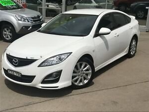 2012 Mazda 6 GH MY11 Touring White 5 Speed Auto Activematic Hatchback Dee Why Manly Area Preview