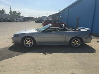 2002 MUSTANG GT CONVERTIBLE POLISHED VORTECH V2 SUPERCHARGED