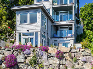 Rare Beachfront Cordova Bay Home!