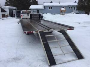 Newmans SLED BED ATV & Snowmobile Trailer 2013
