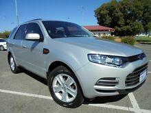 2012 Ford Territory SZ TX Silver 6 Speed Auto Seq Sportshift Wagon Victoria Park Victoria Park Area Preview