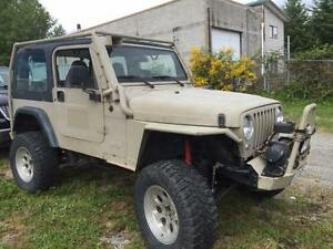 1997 Jeep TJ Off Road SUV