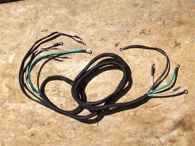 Farmall 100 130 140 To 2581 6 Volt Main Wire Harness. 363483r91. Reg Lights