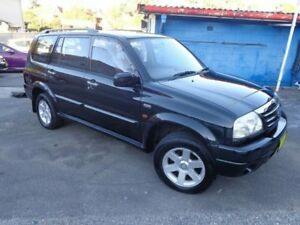 2001 Suzuki XL-7 JA627 (4x4) Black 5 Speed Manual Wagon Sylvania Sutherland Area Preview