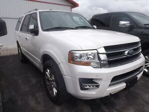 2015 Ford Expedition Limited 4X4 LEATHER NAVI SUNROOF