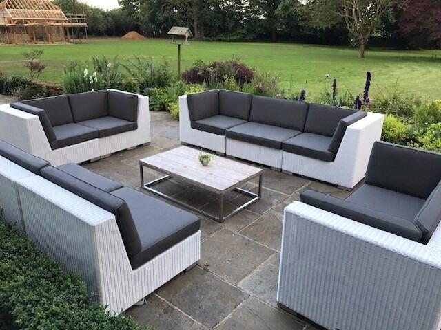 Indian Ocean Outdoor Garden Furniture - Sofa Set And Coffee Table - Indian Ocean Outdoor Garden Furniture - Sofa Set And Coffee Table
