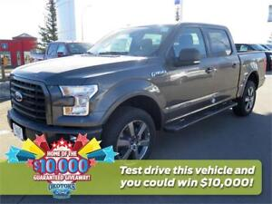 NEW 2017 Ford F-150 XLT 4x4 SuperCrew Cab Styleside 5.5 ft. box