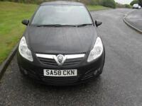 Vauxhall/Opel Corsa CDTI Club 1248cc 2008 ONLY 65050 Mls £30 Tax 60+ MPG Alloys