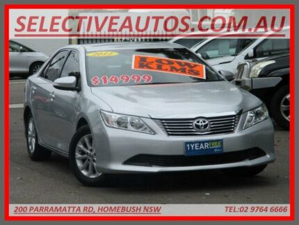 2012 Toyota Aurion GSV40R 09 Upgrade AT-X Silver 6 Speed Auto Sequential Sedan Homebush Strathfield Area Preview